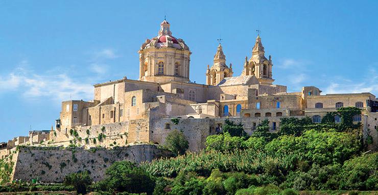 vignette chateau Malte
