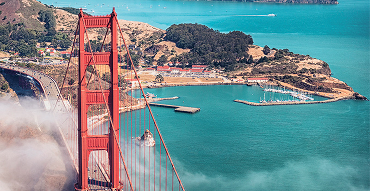 vignette golden gate